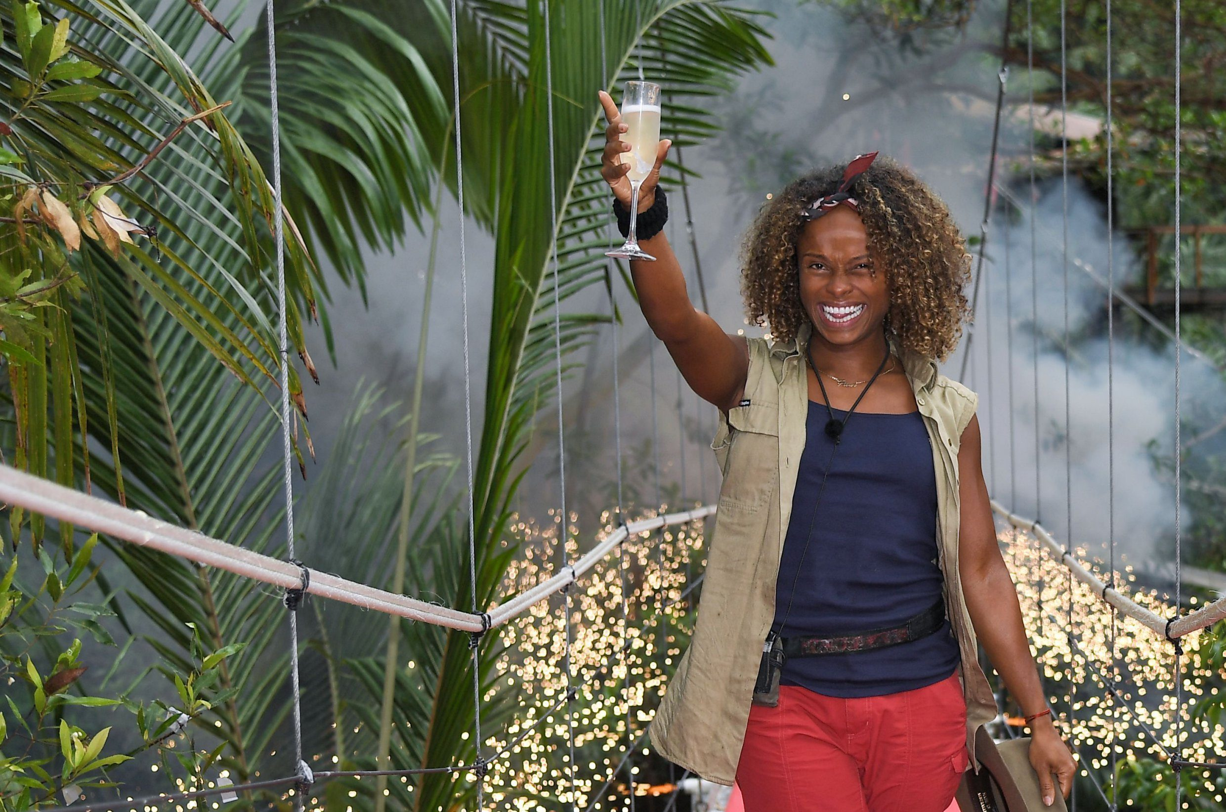Editorial use only Mandatory Credit: Photo by James Gourley/ITV/REX (10019043d) Fleur East is evicted 'I'm a Celebrity... Get Me Out of Here!' TV Show, Series 18, Australia - 08 Dec 2018