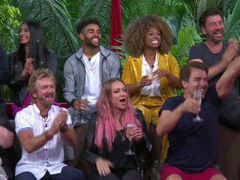 I'm A Celebrity stars 'told to keep the noise down at rowdy after party' with friends and family