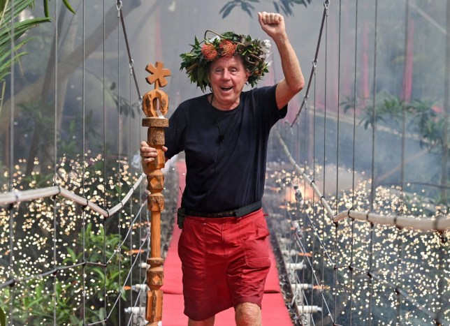 Editorial use only Mandatory Credit: Photo by James Gourley/ITV/REX (10019593g) Harry Redknapp is crowned King of the Jungle 'I'm a Celebrity... Get Me Out of Here!' TV Show, Series 18, Australia - 09 Dec 2018