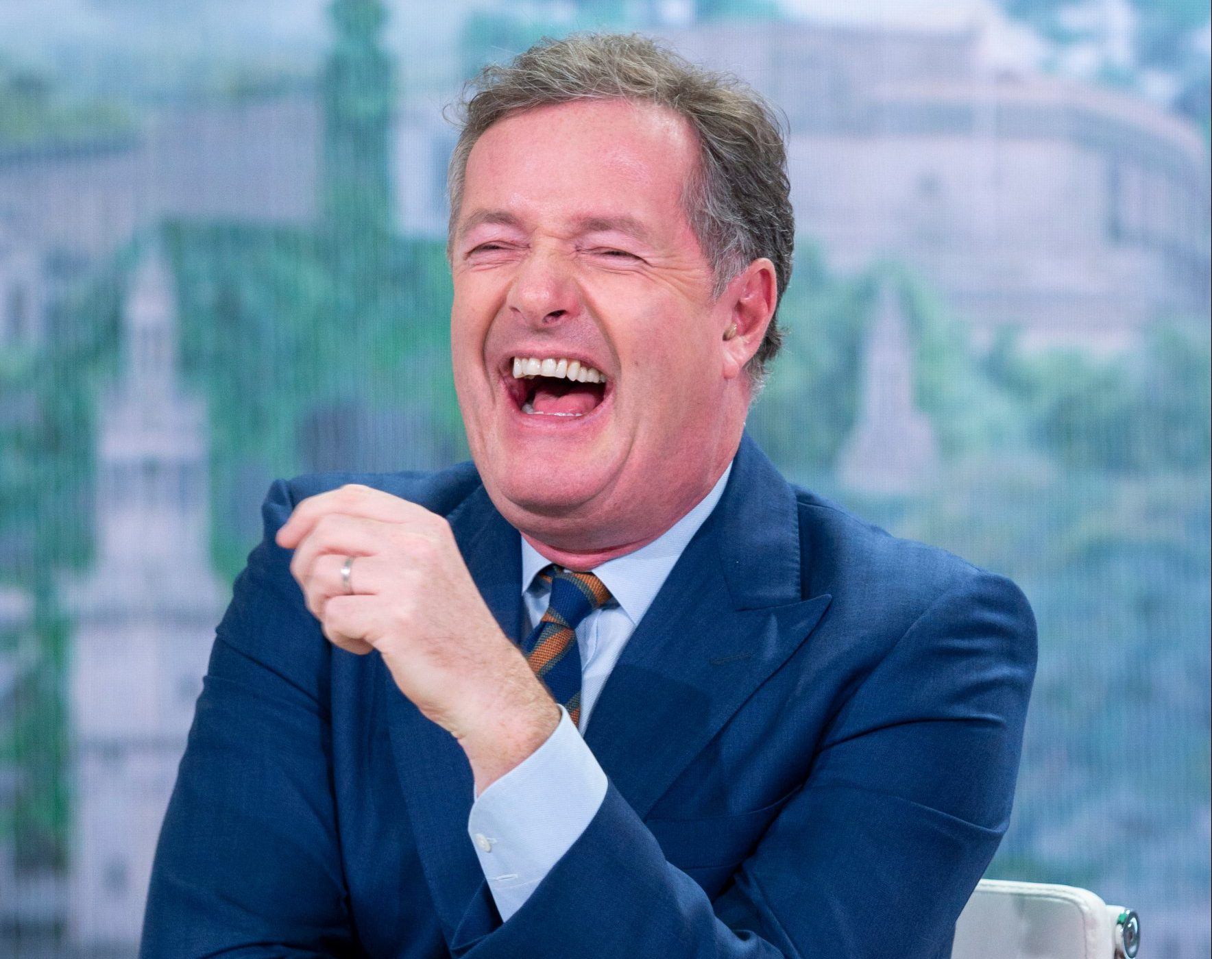 Piers Morgan is going to be put through the pain of childbirth on live TV