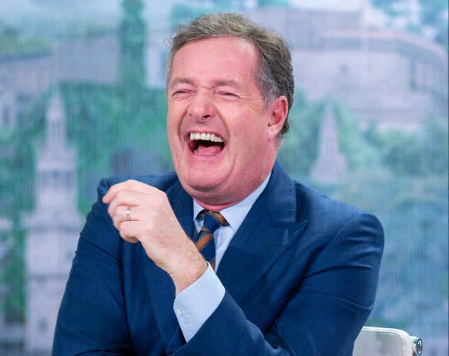Editorial use only Mandatory Credit: Photo by S Meddle/ITV/REX (10020153ck) Piers Morgan 'Good Morning Britain' TV show, London, UK - 10 Dec 2018