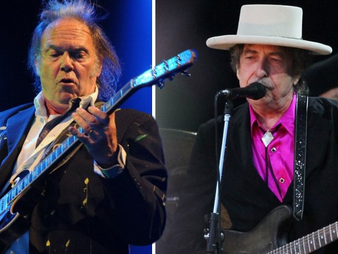 Neil Young 'angry' over Hyde Park gig with Bob Dylan