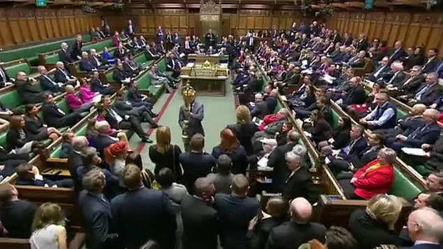mace in the commons BBC
