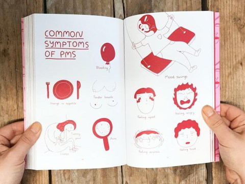 Woman's illustrative book about periods is what every teenage girl needs