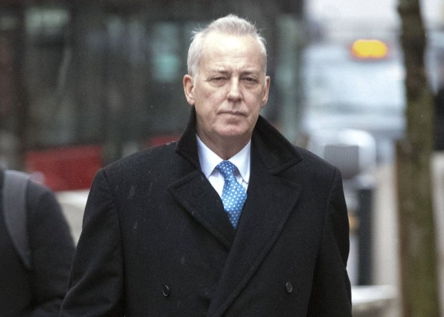 "File photo dated 20/11/18 of Michael Barrymore outside the High Court in London as three judges ruled today that 66-year-old Mr Barrymore is ""entitled to nominal damages only"" over the wrongful arrest he says destroyed his career. PRESS ASSOCIATION Photo. Issue date: Wednesday December 12, 2018. See PA story COURTS Barrymore. Photo credit should read: Steve Parsons/PA Wire"