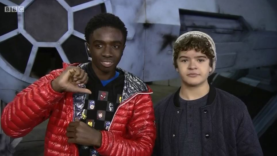 Stranger Things kids make awkward live TV cameo on The One Show and it's painful