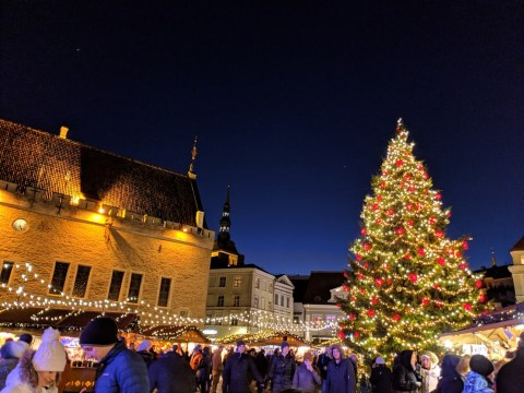 Mulled wine, cobbled streets and a fairytale old town: Christmas in Tallinn is both charming and magical