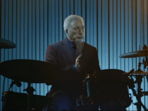 The Voice fans can't get enough of Tom Jones playing the drums in advert for upcoming series