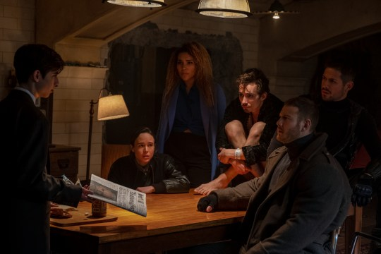 Is The Umbrella Academy's Klaus just Misfits' Nathan? Robert