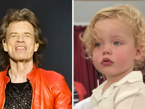 Mick Jagger's son Deveraux already has the famous family pout as adorable tot turns 2