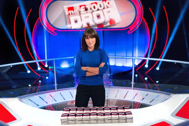 Davina McCall is the host of The 100K Drop on Channel 4