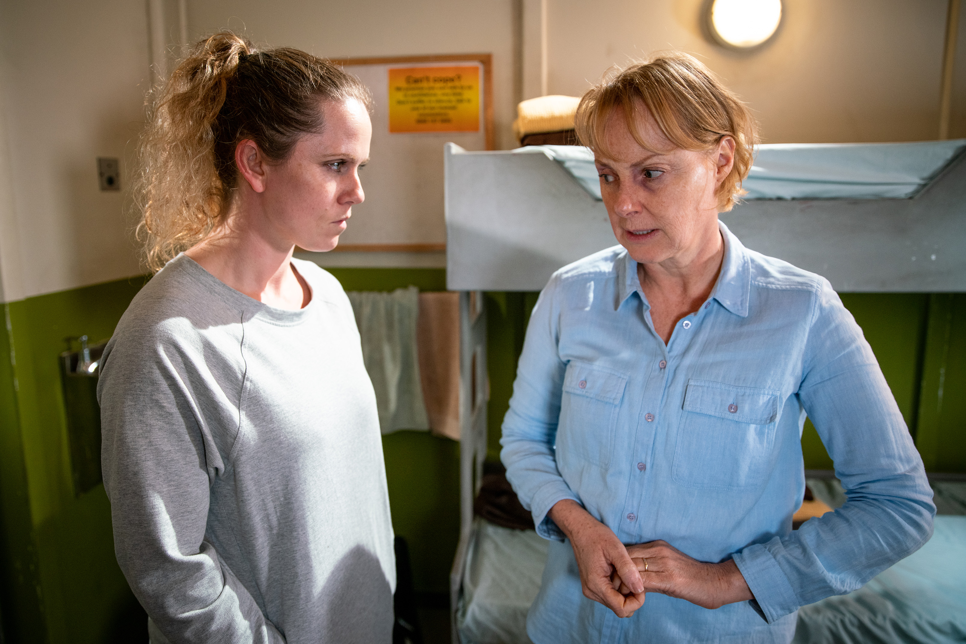 Coronation Street spoilers: Knife horror as Sally Metcalfe is attacked tonight
