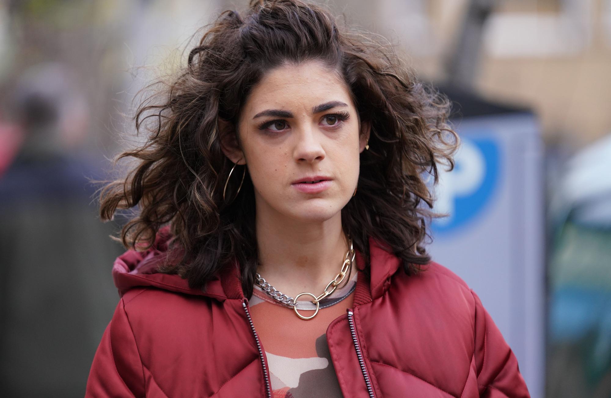 Sophia Capasso playing Evie Steele in Eastenders