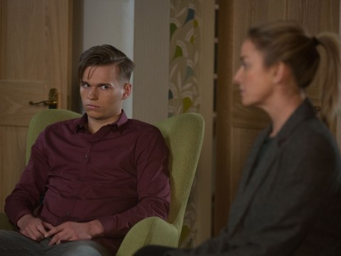 EastEnders spoilers: Mel Owen in knife drama over dangerous Hunter