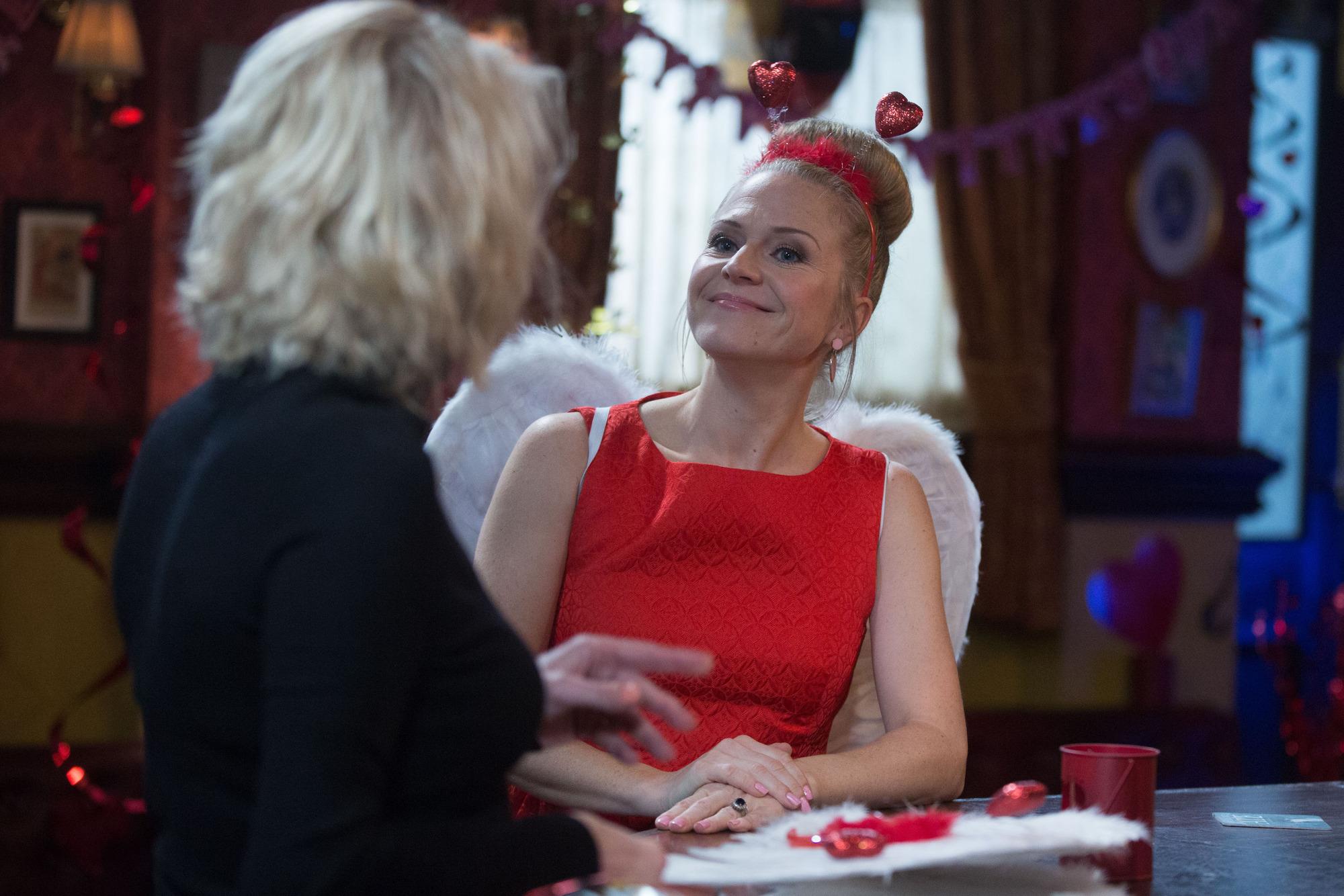 Kellie Bright as Linda Carter in EastEnders