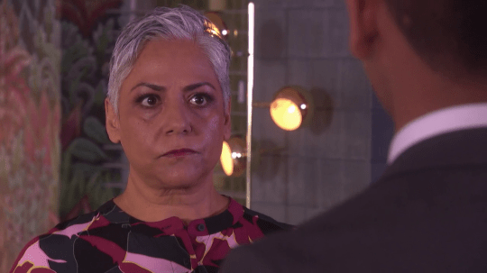 Misbah in Hollyoaks
