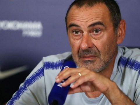 Maurizio Sarri tells Chelsea how many transfers he 'needs' in January
