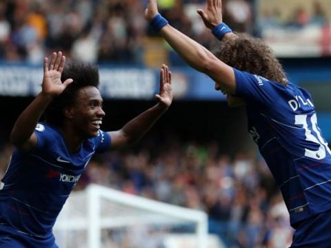 Willian urges Chelsea to hand David Luiz new contract amid transfer rumours