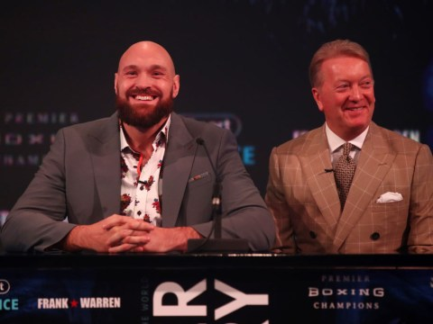 Frank Warren gives telling update on potential Anthony Joshua vs Tyson Fury fight