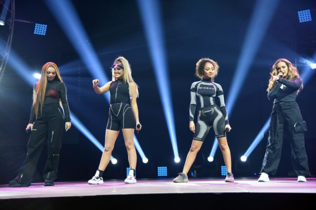 little mix on stage