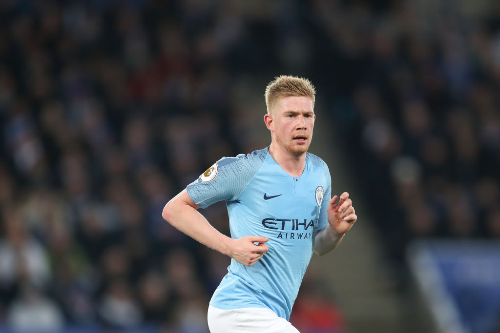 Pep Guardiola provides Kevin De Bruyne injury update ahead of Liverpool clash