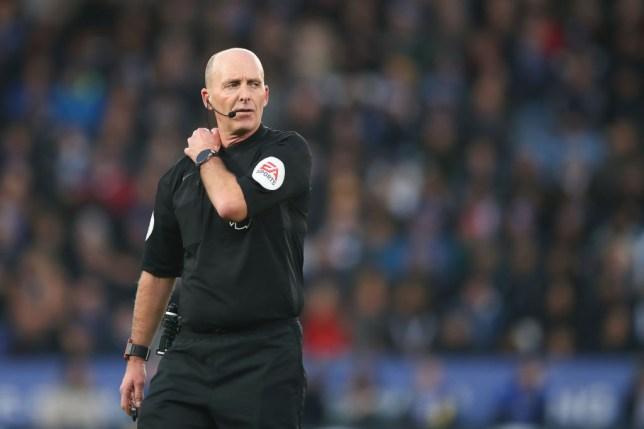 Premier League referee Mike Dean