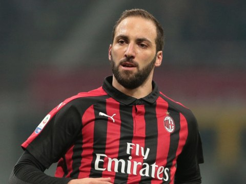 Chelsea pull out of potential January transfer for Gonzalo Higuain