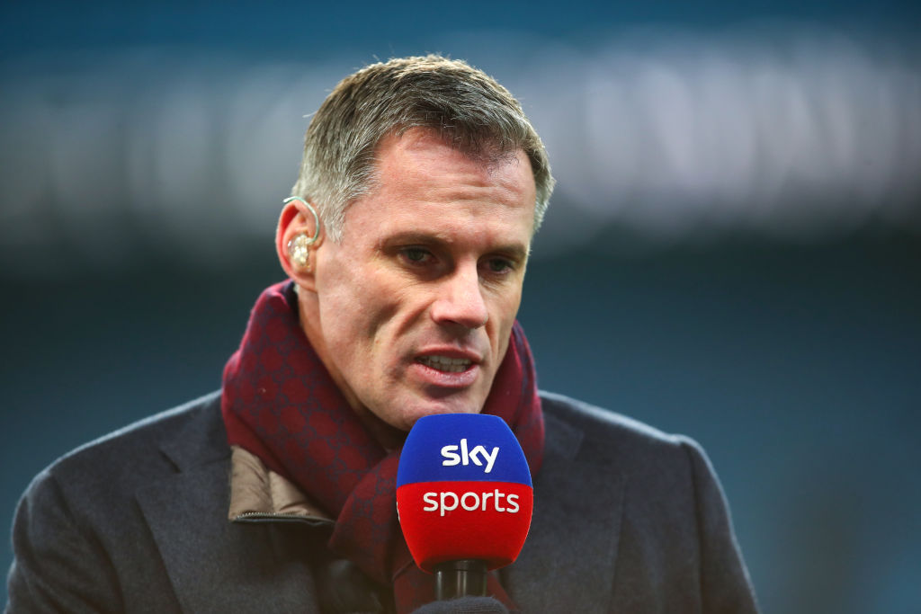 Jamie Carragher suggests Liverpool formation overhaul after Man City defeat