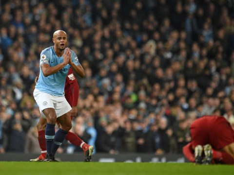 Vincent Kompany responds to claims he should have been sent off for Mohamed Salah tackle