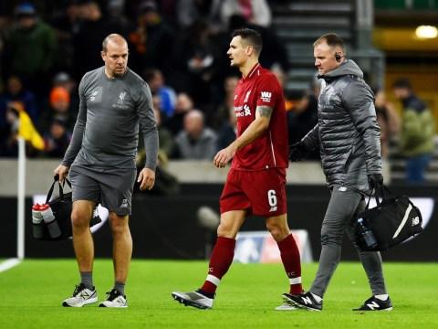 Jurgen Klopp denies Liverpool need to buy a centre-back after Dejan Lovren injury