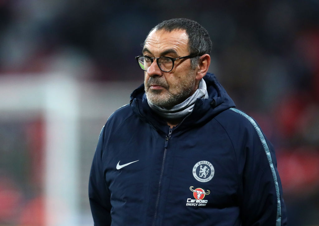 Maurizio Sarri insists Chelsea would beat England and reveals he didn't watch the World Cup