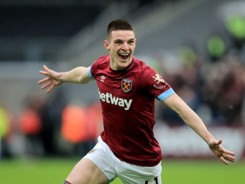 Mick McCarthy reveals talks with Gareth Southgate over Declan Rice's international future