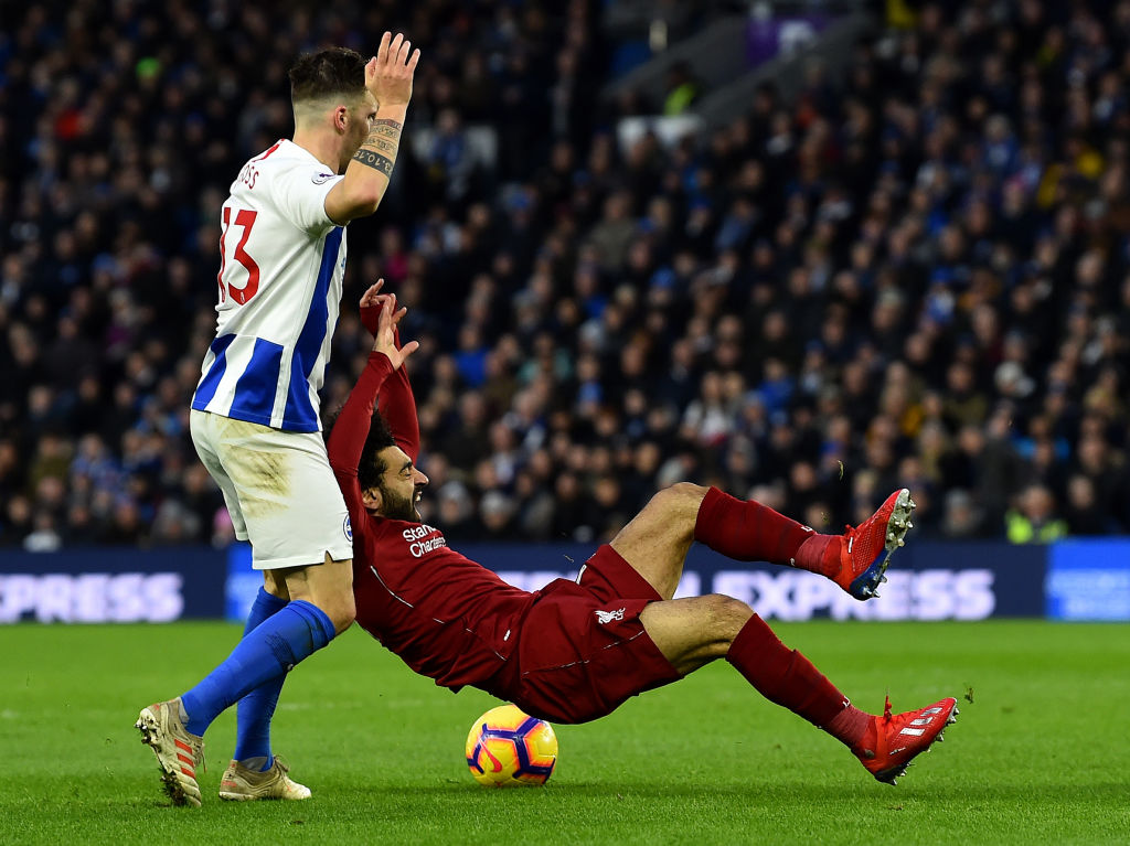 Liverpool star Andy Robertson brands complaints about Mohamed Salah diving 'desperate'