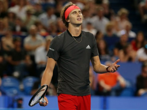 Alexander Zverev faces Australian Open fitness race after hamstring injury