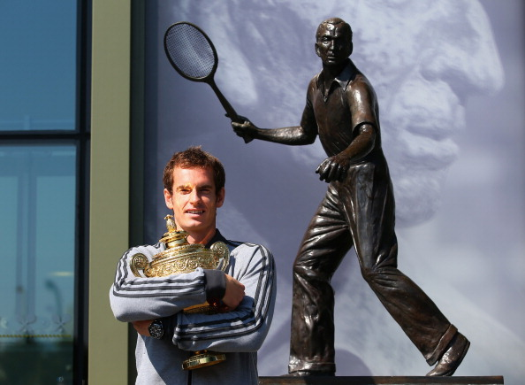 Andy Murray to be honoured with statue at Wimbledon