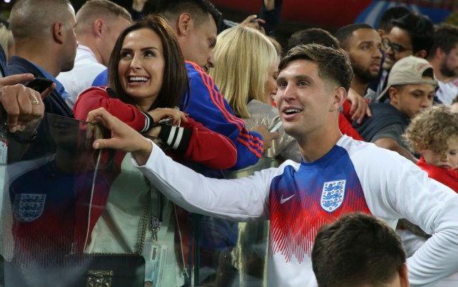 England footballer John Stones 'walks out on childhood sweetheart and mother of daughter after 12 years'