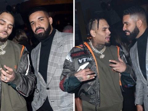 Chris Brown and Drake party together in Miami after squashing their 'six-year feud'