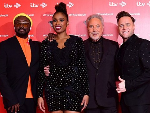 Olly Murs serenades Jennifer Hudson as The Voice UK coaches reunite for red carpet launch