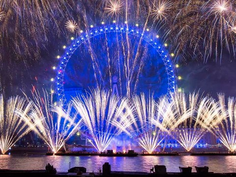 Did you spot London's New Year fireworks anti-Brexit message?