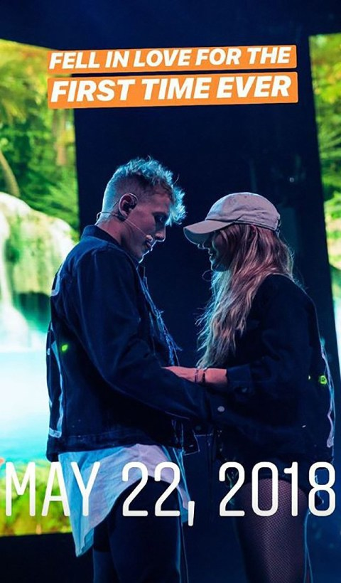 YouTuber Jake Paul shares teary photo after split from Erika Costell