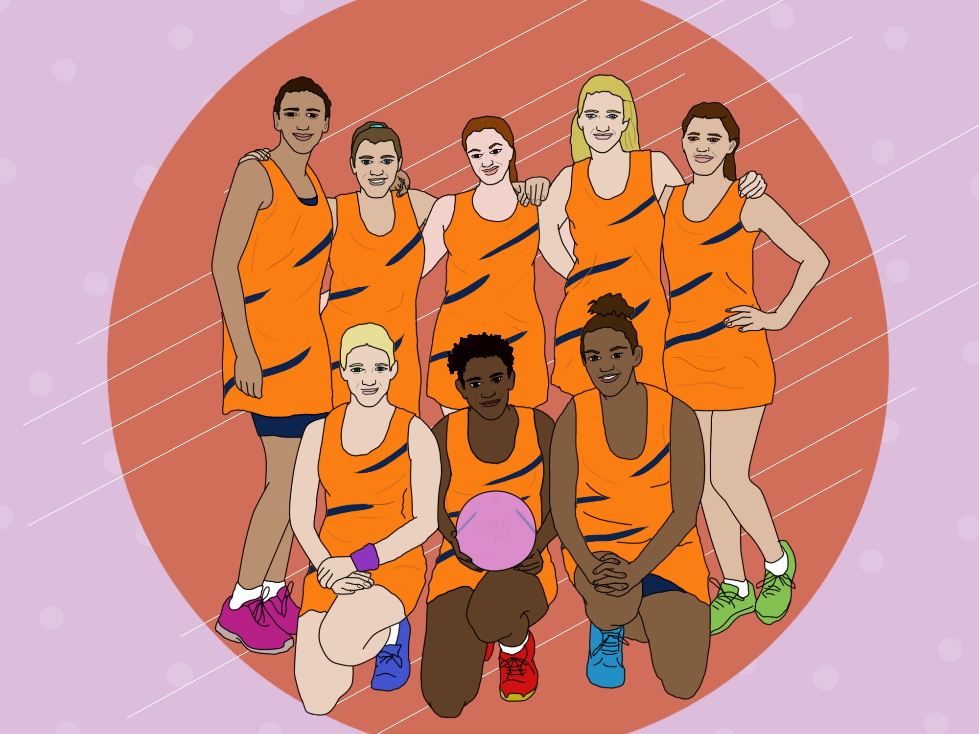 All the reasons you should start playing a team sport in 2019 Metro illustrations (Picture: Ella Byworth/ Metro.co.uk)