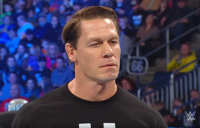 Becky Lynch's savage burn at John Cena (Picture: WWE)