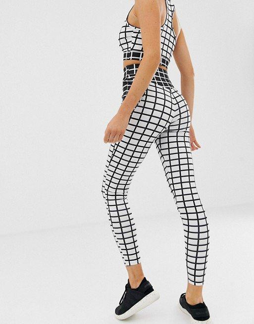 Humorous Grey Nike Leggings In Size M Complete Range Of Articles Activewear Activewear Bottoms