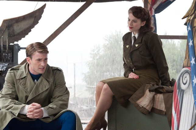 Chris Evans, Hayley Atwell Captain America and Peggy