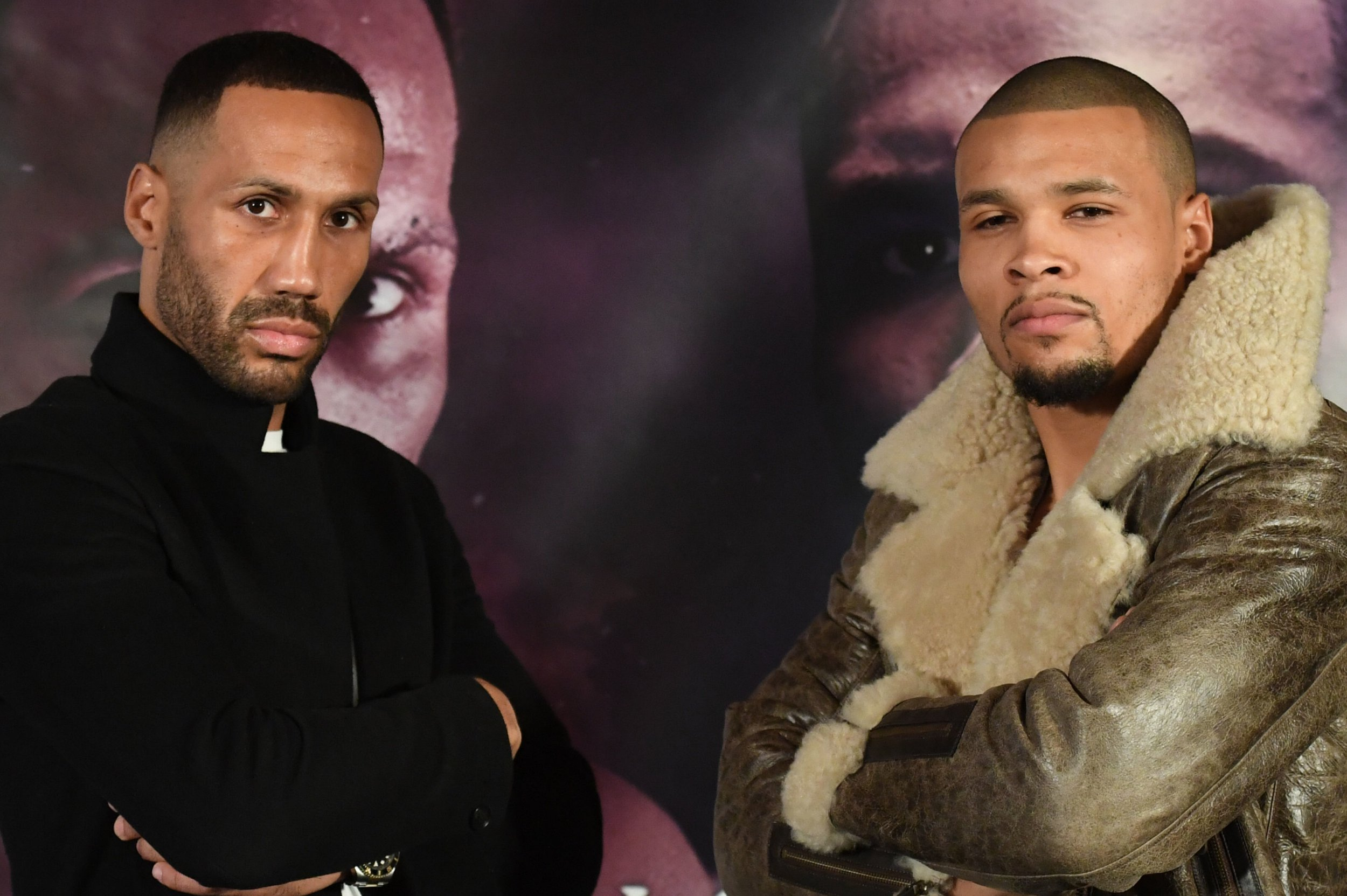 James DeGale and Chris Eubank Jr during a press conference at the Hotel Cafe Royal, London. PRESS ASSOCIATION Photo. Picture date: Thursday January 3, 2019. See PA story BOXING London. Photo credit should read: Stefan Rousseau/PA Wire