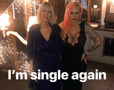 Jodie Marsh dumps boyfriend Wayne for doing something