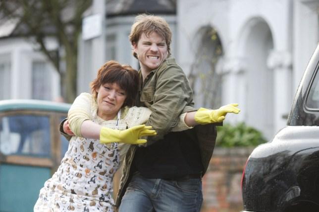Sean and Jean Slater in EastEnders