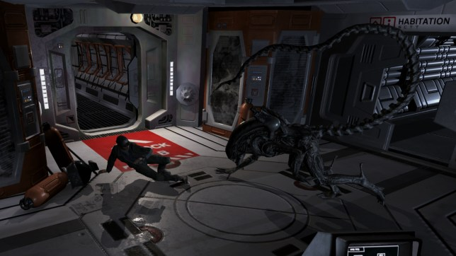 Alien: Blackout (iOS) - in space stations everyone can hear you scream