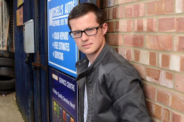 Ben Mitchell of Eastenders, played by Harry Reid