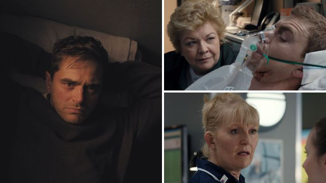 Iain is saved by an X-ray in Casualty